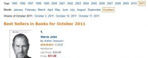 Amazon's Top-Selling Book for 2011 Could Be Steve Jobs Biography