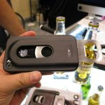 iPhone case with built in bottle opener