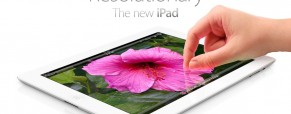 The new iPad sells like hotcake.