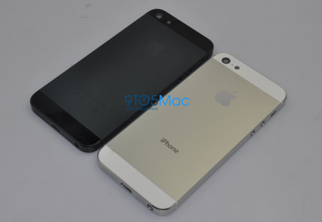 iPhone 5 Backplates Leaked