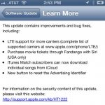 iOS 6.1 now available for download brings LTE support