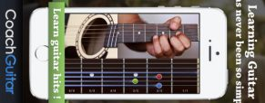 Coach Guitar App for iPhone and iPad
